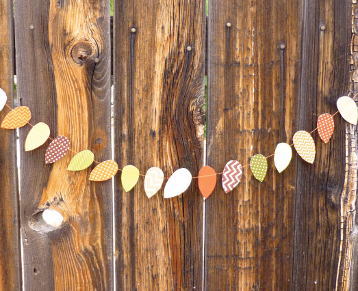 Free Printable Patterned Leaves