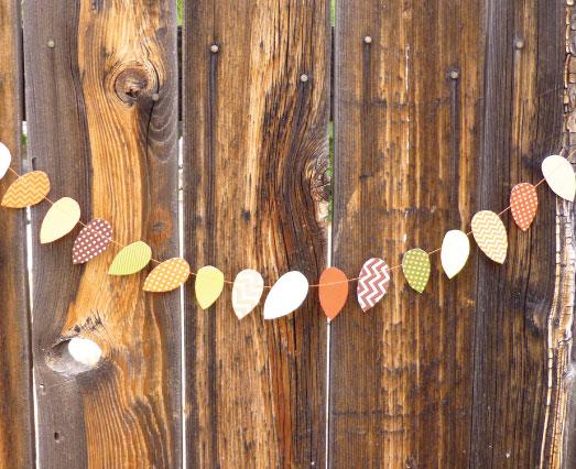 Free Printable Patterned Leaves